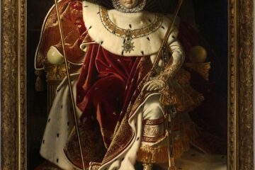 Napoleon I on his Imperial Throne